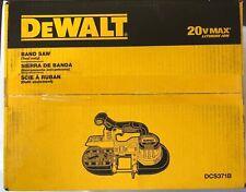 Dewalt DCS371B 20 volt Max Cordless  Bandsaw New