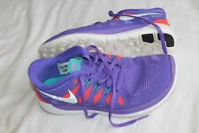 Nike Free 5.0 GS 644446 500 Purple Sneakers Shoes Youth Size 5Y EUR 37.5 WOMEN 7
