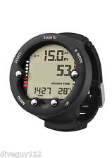 Suunto Zoop Novo Wrist Dive Computer Scuba Diving Watch Black