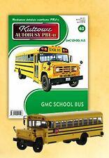 IXO 1:72 GMC School Bus ( 1979 ) + Magazin - LIMITED EDITION - NEW