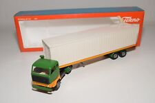S TEKNO VOLVO F88 F89 CONTAINER PROMOTIONAL TRUCK WITH TRAILER NEAR MINT BOXED