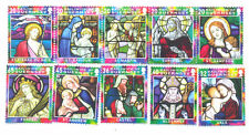 Guernsey-Stained Glass Windows-set 2005-mnh-Art