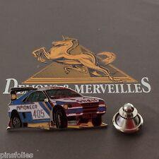 Pin's Folies *** Demons et Merveilles Automobile Peugeot shell pionneer