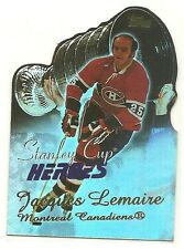 03 04 Topps Jacques Lemaire Stanley Cup Heroes Insert Card BV $10