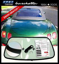 Lunette arrière Fiat Barchetta Cab cabriolet VERT ORIGINE fermeture éclair
