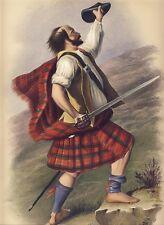 MACDUFF ORIGINAL McIAN HAND COLORED LITHO CLANS SCOTTISH HIGHLANDS 1845