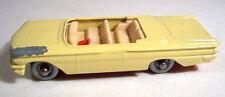 MATCHBOX RW 39b Pontiac Convertible GIALLO RUOTE argentate