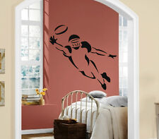 Wall Stickers Vinyl Decal Football Wide Receiver  Super Bowl Sport Wall  ig017
