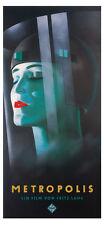 Metropolis Fritz Lang Werner Graul Plakat Poster Bild Kunstdruck Deko 88x190 XXL