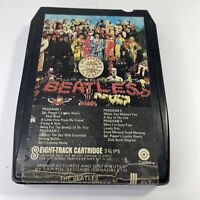 Rare Canada Import: The Beatles, Sgt. Pepper's Lonely Hearts Club 8-Track Tape