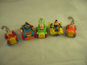 McDonalds Happy Meal Looney Tunes Quack Up Cars Complete Set