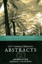 AIA 111th Annual Meeting Abstracts, volume 33 (AIA Annual Meeting Abstracts), ,