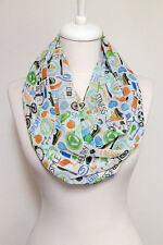 Workout infinity scarf crossfit Fitness yoga gym gift for women birthday present