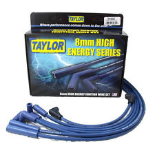 Taylor Cable 64632 Spark Plug Wire Set; High Energy Blue 8mm Resistor Core