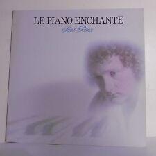 """33T SAINT PREUX Disque Vinyle LP 12"""" PIANO ENCHANTE - CARRERE HELOISE 67.434"""
