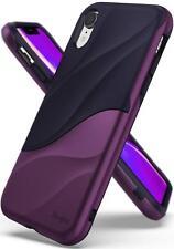 For iPhone XR | Ringke [WAVE] Shockproof 3D Dual Layer Back Design Case Cover