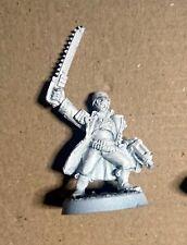 40k Praetorian Lieutenant Citadel Metal OOP Imperial Guard