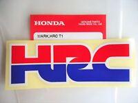GENUINE HRC Honda Racing Corporation Decal Sticker Badge x 1 *** UK STOCK ***