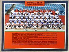 1980 BUFFALO BILLS AFC Champions ORIGINAL 8.5 x 11 Team Photo