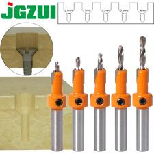 Countersink Bit Drill Hss Woodworking Trend Cutter 6 Chamfer Router Titanium Set