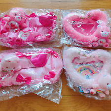 Care Bear Heart Photo Frame Set Tissue Box Cover Set  NEW