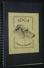 Vintage Scottish Deerhound SDCA Rescue & Placement Day Planner