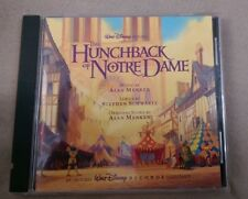 The Hunchback of Notre Dame [Original Soundtrack] by Alan Menken (CD, Oct-1996,…