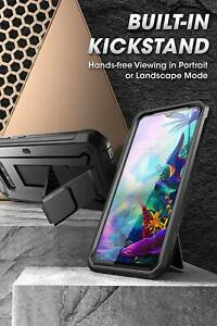 For LG G8X thinQ 2019 SUPCASE Beetle Pro Shockproof Holster Case Cover + Screen