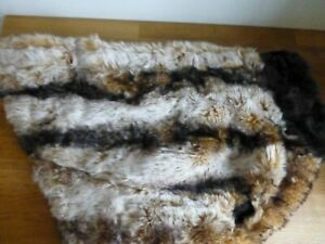 Ancol, Muddy Paws faux fur dog coat, size large