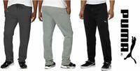 Puma Men's Fleece Sweat Athletic Pants Pockets Drawstring Variety