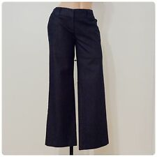 Womens New York & Co Dark Blue Trouser Jeans Size 2 EUC