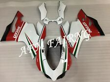 Tricolore ABS Injection Mold Bodywork Fairing Kit for Ducati 899 Panigale 12-14