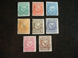 Stamps - Dominican Republic - Scott# 88-95