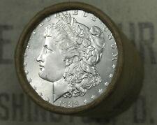 $20 BU MORGAN DOLLAR ROLL UNCIRCULATED SILVER 1889 & CC Mint ENDS DOLLARS Z59