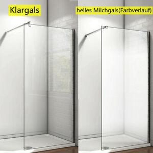 Walk in Dusche Duschwand Nano Glas Duschkabine Duschabtrennung Duschtrennwand