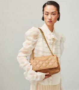 Tory Burch Fleming Soft Convertible Shoulder Bag in tiramisu $528