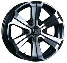 CRIMSON BARBERO U-GRANDE wheels rims for TOYOTA HIACE 17x6.5J +38 from JAPAN