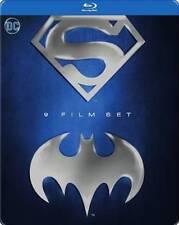 Batman & Superman 9-Film Anthology Set BRAND NEW 9-DISC US BLU-RAY SET