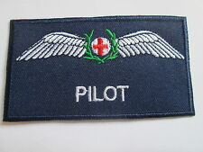 Pilot Embroidered Badge Iron oe Sew On Patch - P035