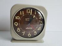 Westclox Alarm Clock Silver Bell Glow in Dark  Vintage