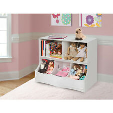 Bedroom Nursery Toys Books Linen Cds Shelving Multi-Bin Storage Cubby Organizer