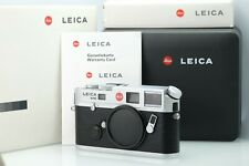 Leica M6 TTL Silver 0.72 in Mint Condition With Complete Packaging