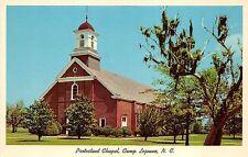 BF35948 protestant chapel camp lejeune N C USA  front/back scan
