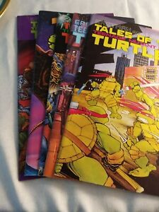 Eastman and Laird's Tales Of The Teenage Mutant Ninja Turtles lot of 5 Mint .