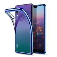 Clear TPU Phone Case Back Cover Silicone For Huawei P20 pro P10 plus P9 Lite