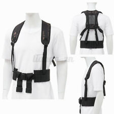 Tactical Harness Waist Battle Belt Suspender Hunting Molle Vest Comba
