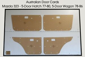 MAZDA 323 5-Door Hatch 1977-80, 5-Door Wagon 1978-86