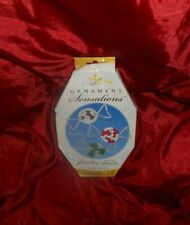 beaded Christmas candy ornament kit sealed makes 18 never opened