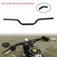 """Universal 7/8"""" 22mm Euro Style Motorcycle Handlebar Drag Bar For Honda Kawasaki"""