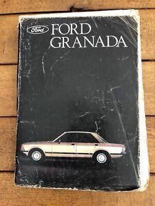 Ford Granada factory workshop manuals